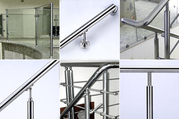 handrail fittings for building materials